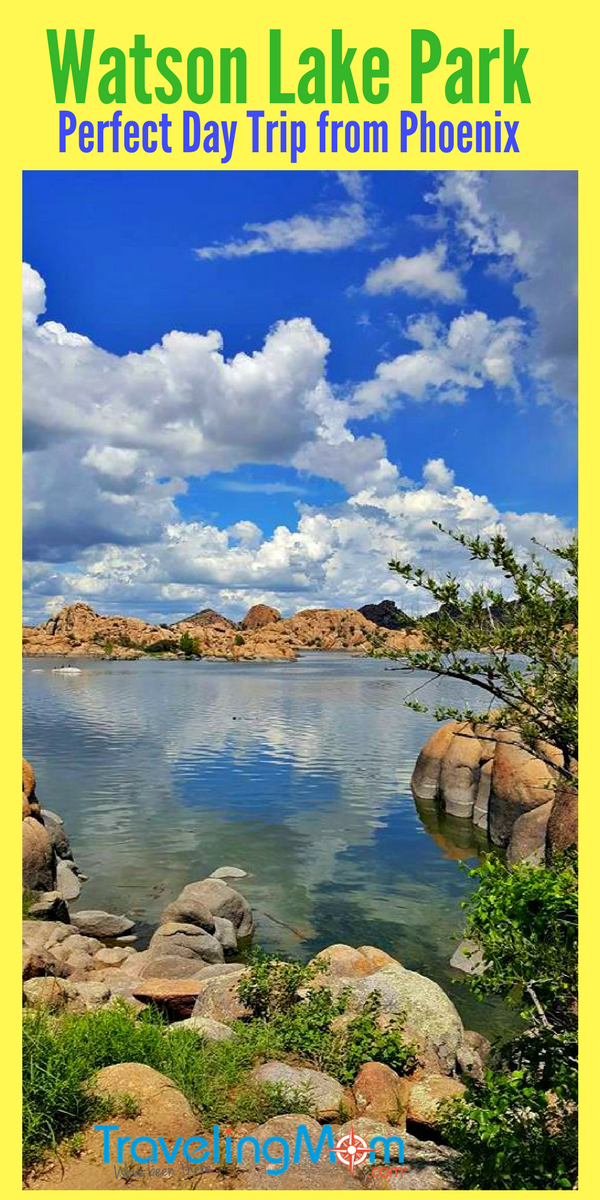 Escape the heat of Phoenix to Watson Lake Park near Prescott.