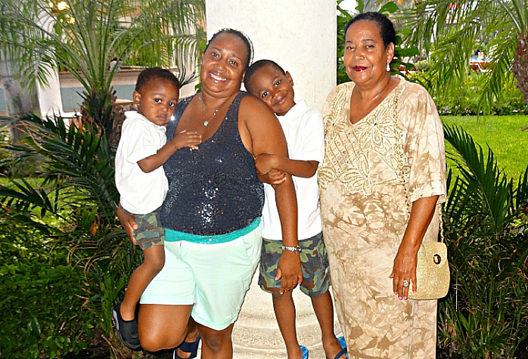 Taking my mother along to Beaches Turks and Caicos was one of my best multigenerational family vacation ideas.