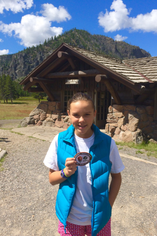 Junior Ranger Badges. Ultimate guide to Yellowstone National Park.