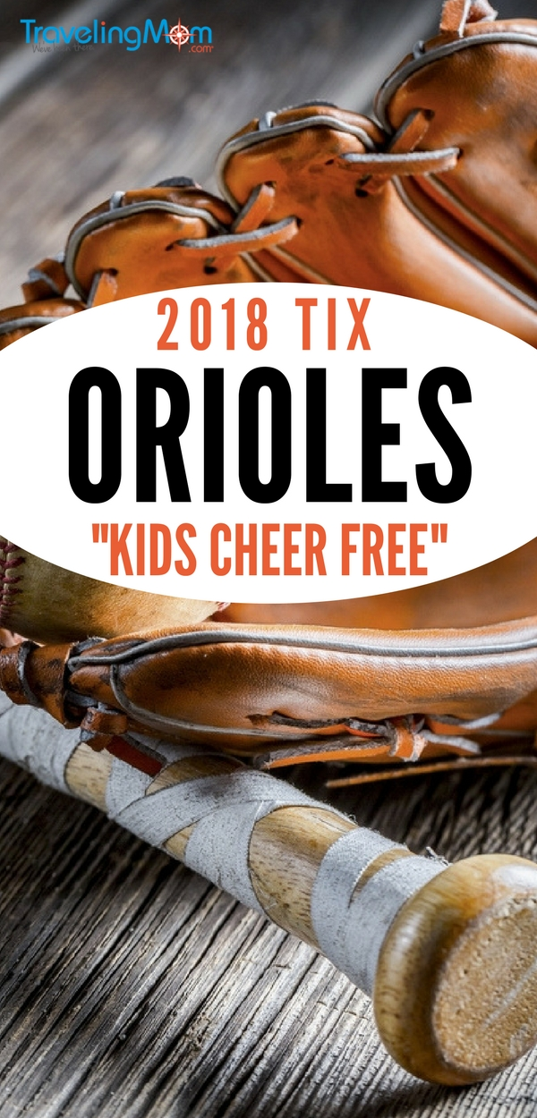 "Family-friendly and free in Baltimore, Maryland. The Baltimore Orioles introduced a new program called ""Kids Cheer Free"". Kids 9 and under accompanied by an adult with a regular upper deck admission ticket can attend a game for free!"