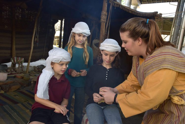 Biblical History Center provides true-to-life settings for experiential travel.
