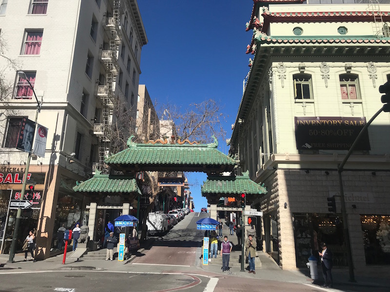 Have you toured Chinatown in SF?