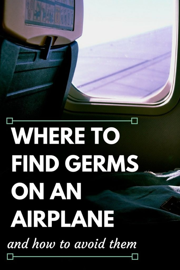 These healthy air travel tips will help you know where to find germs on airplane -- and how to avoide them so you don't get sick while traveling!