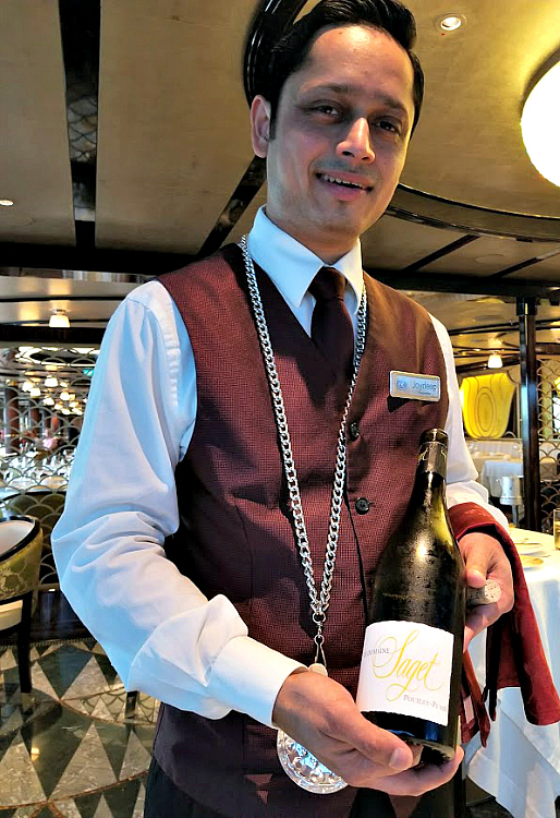 The wine sommeliers at all the restaurants on the Regent Seven Seas Explorer took the time to get to know my wine preferences and suggested new varietals to sample
