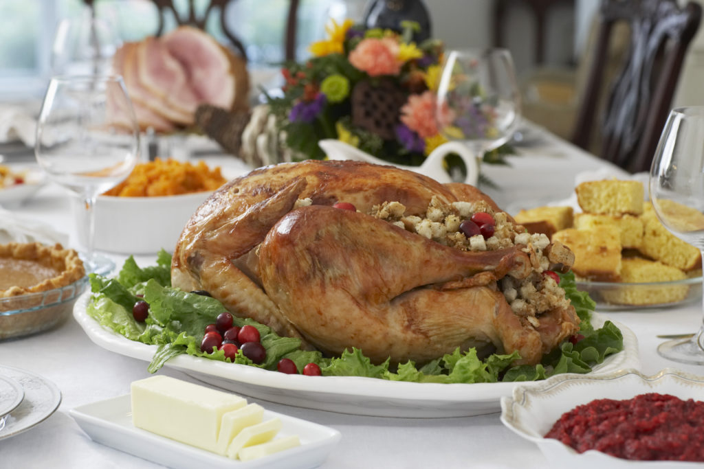 A blended family Thanksgiving dinner doesn't have to be on Thanksgiving Day.