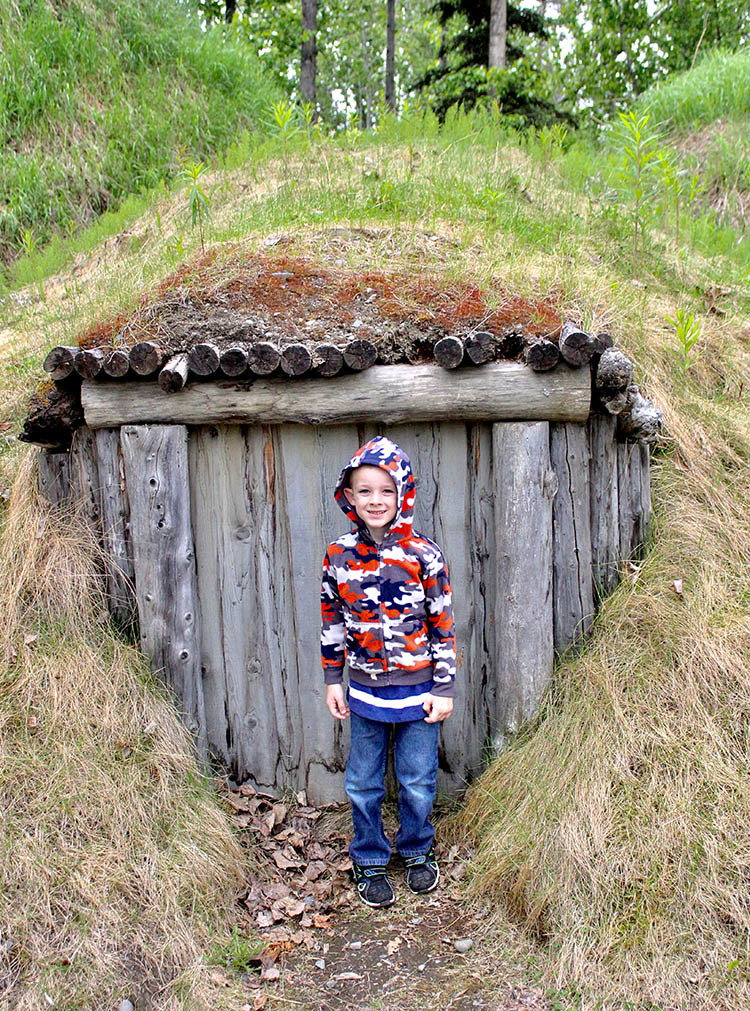 Did you know native dwellings in Anchorage were built small to keep out the polar bears? Visit one! It's one of many things to do in Anchorage.