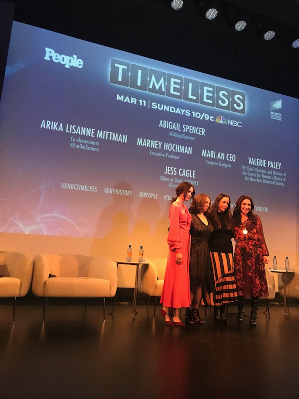 Have you seen Timeless on NBC?