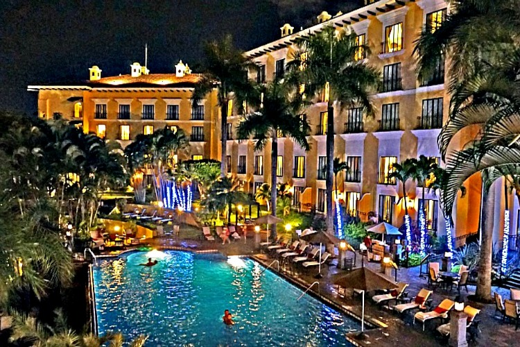 When vacation is still looking good, at Costa Rica Marriott San Jose. I do not realized yet, that I did the right thing buying travel insurance.
