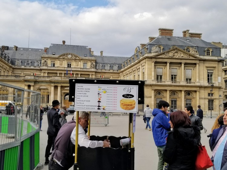 Knowing some travel phrases in french can help you order what you want, even from a street vendor.