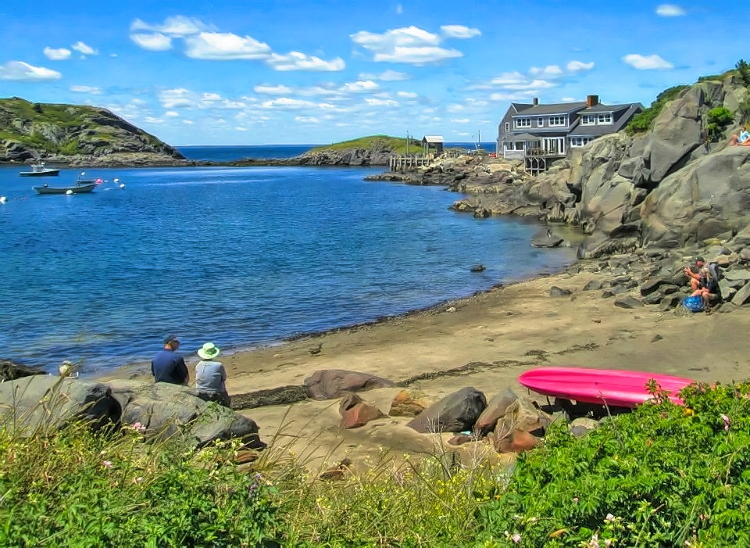 Enjoy peace and beauty of Monhegan Island in Maine near The Island Inn.