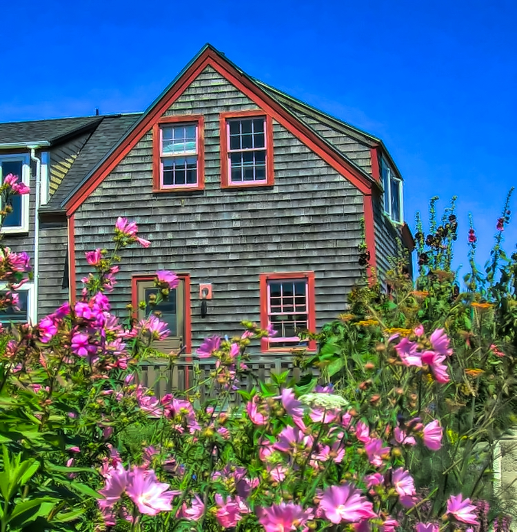 Take a walk around Monhegan Island in Maine to enjoy its charm.