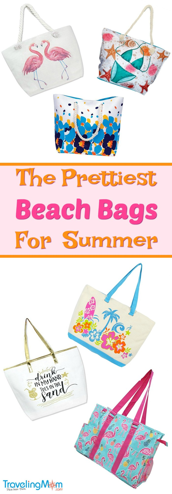 The prettiest beach bags for summer. Photo Credit: Amazon
