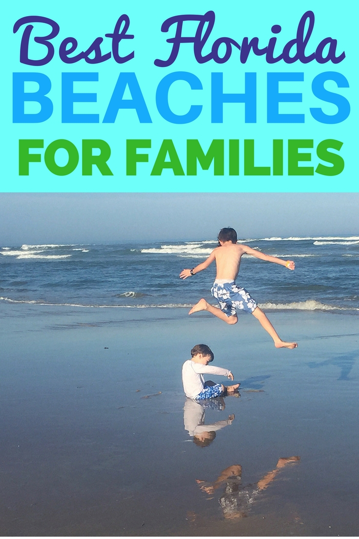 Best Florida beaches for families. Check out the top family friendly beaches in Florida for family travel.