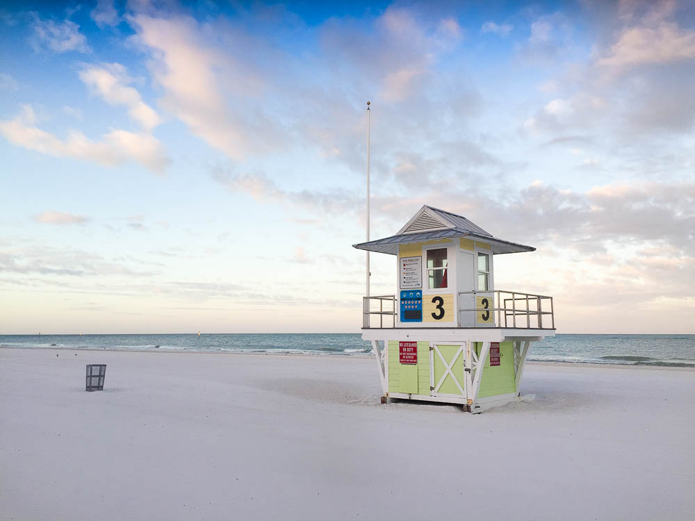 The wide beaches in Clearwater make it one of the best Florida beaches for families.