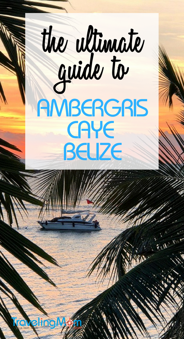 what's included in the ultimate guide to ambergris caye belize