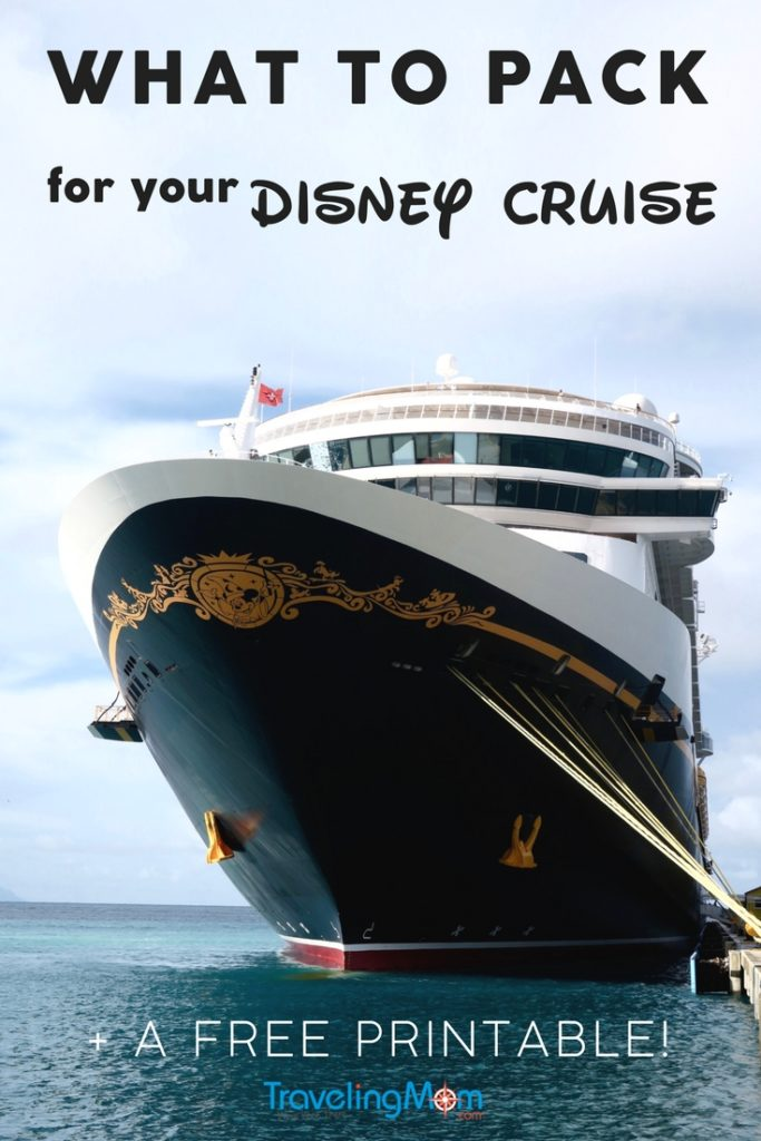 If you're planning a Disney Cruise vacation, here are the most important things you need to pack. Whether you're a veteran cruiser or it's your first time, a DCL vacation is truly unique. Download our TravelingMom printable Disney Cruise Family Packing List before you go!
