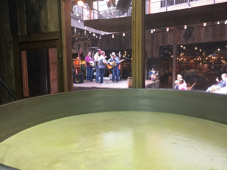 Live bluegrass and moonshine are both romantic fun in Gatlinburg, Tennessee.