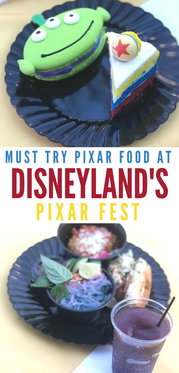 Must Try Pixar Food at Disneyland's Pixar Fest