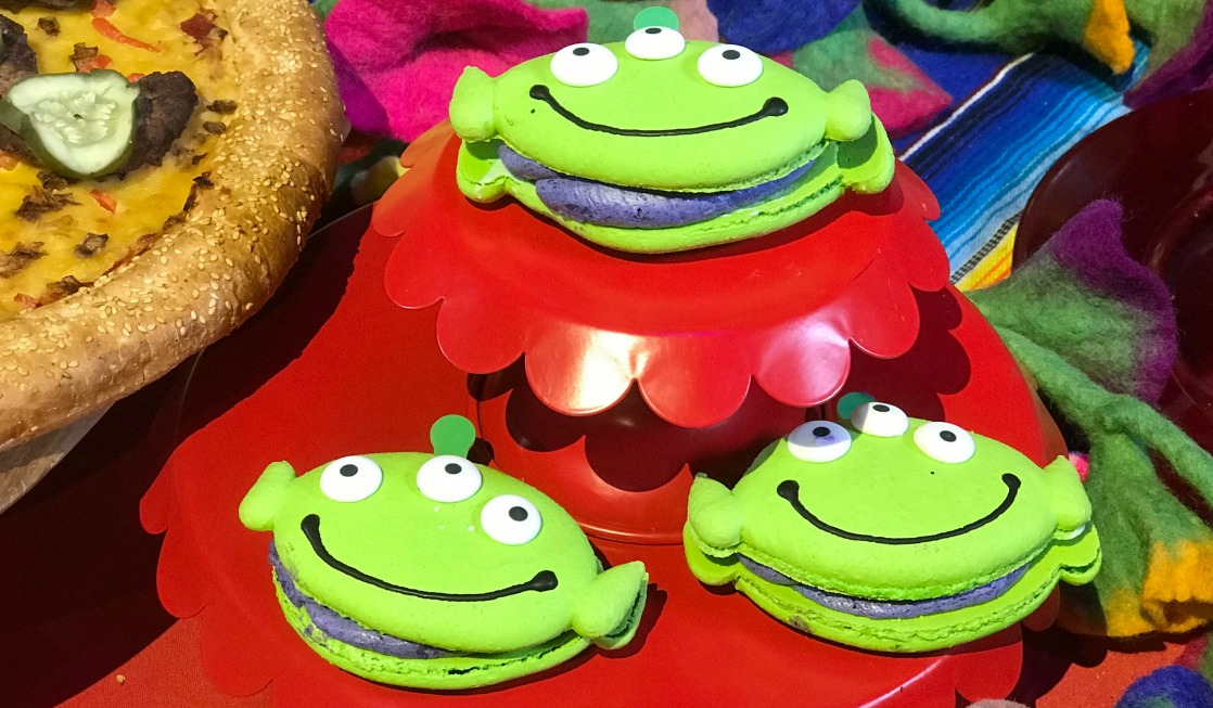Pixar themed fest food in Disneyland