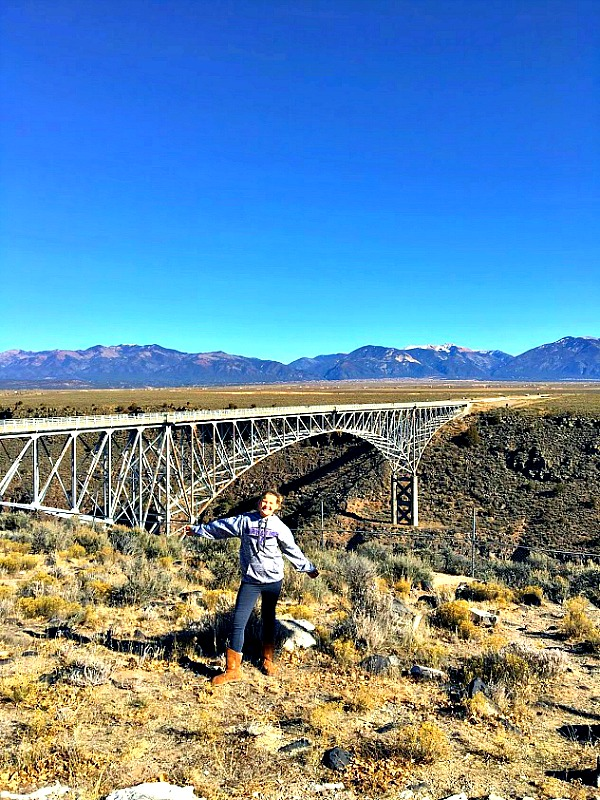 At 650 feet above the Rio Grande, the Rio Grande Gorge Bridge in Taos. is the 5th highest bridge in the United States.