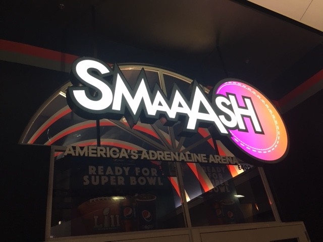 SMAAASH is a new virtual reality arcade in Mall of America.