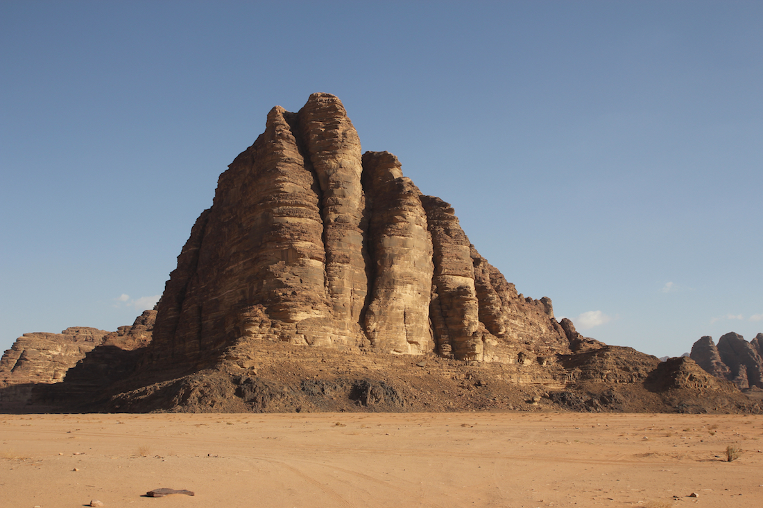 Seven Pillars of Wisdom. Things to do with kids in Wadi Rum.