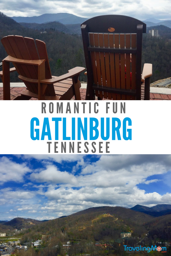 Romantic fun in Gatlinburg includes mountain views, moonshine sipping, and zip lining.