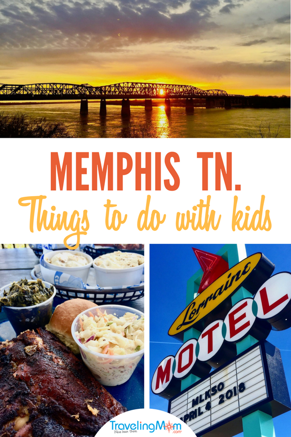 Things to do with kids in Memphis include civil rights and music museums, parks, children's museums, and great food