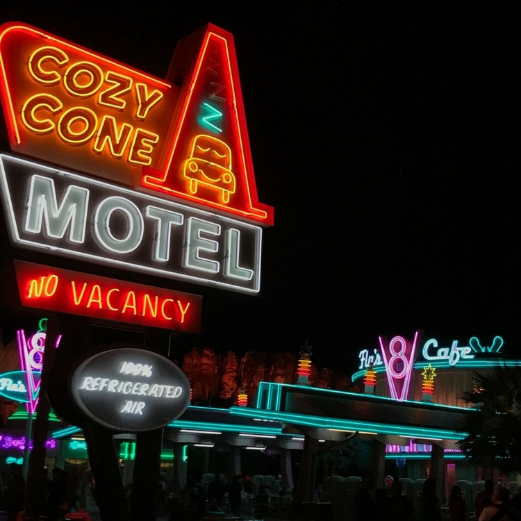 You don't have to sleep at the Cozy Cone to visit Disneyland on a budget. Photo by Dia Adams