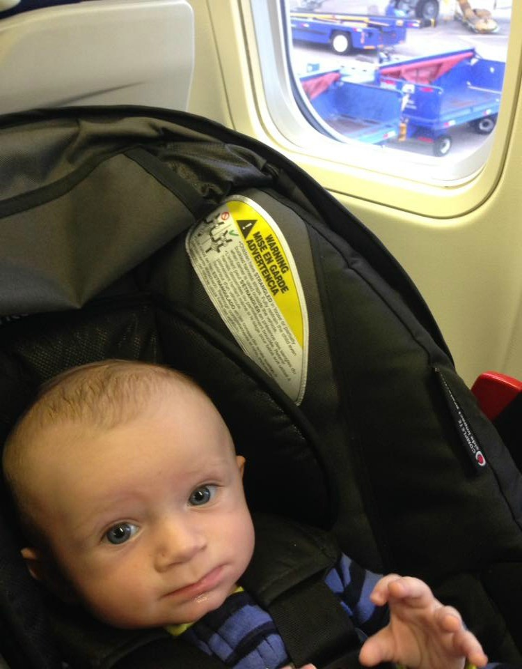 When Flying With Baby It Can Be Difficult To Lug A Car Seat Base Around