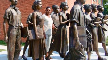 Civil Rights Trail sculpture gives life to history.
