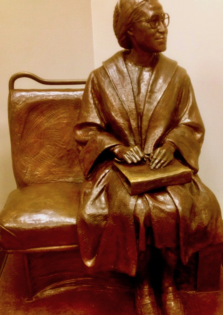 Civil Rights Trail icon Rosa Parks better understand with visit to Montgomery.