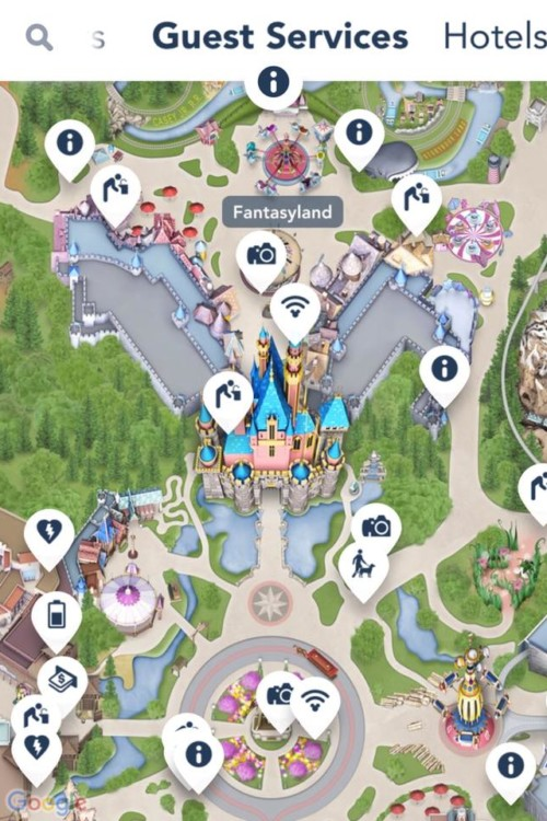 disneyland wifi hotspot guest services app Free wifi in the DIsneyland parks