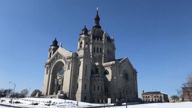 Of course the namesake Cathedral of Saint Paul is free