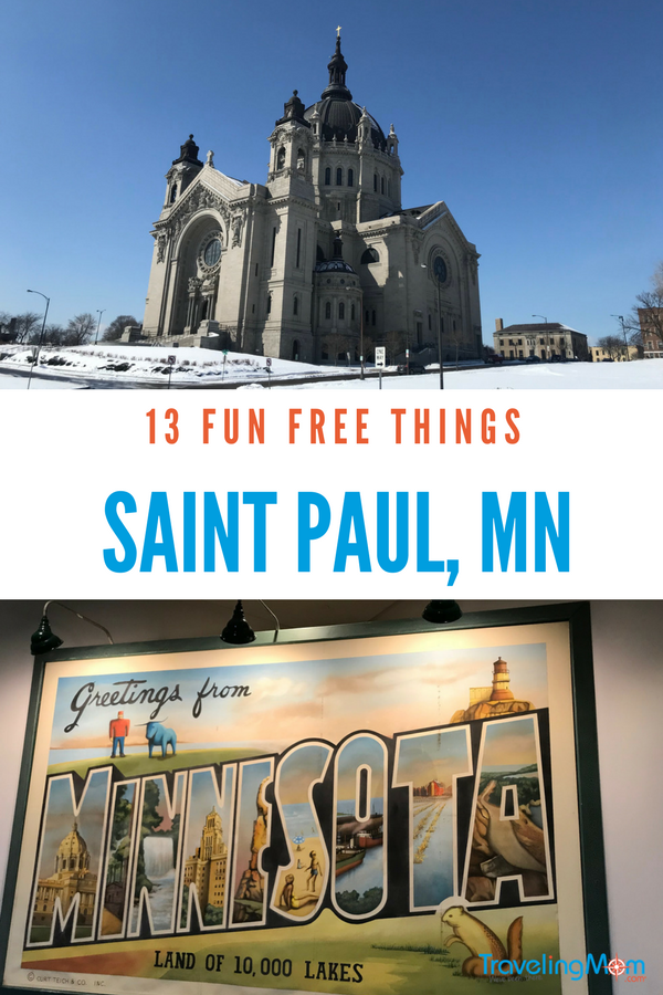 There are a lot of option for free fun in Saint Paul, MN
