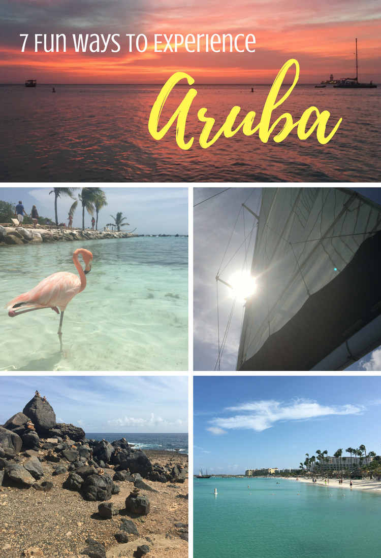 Headed to Aruba for a momcation? From dining to photos with pelicans, here's seven fun things to do!