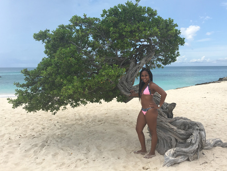The Divi Divi tree on Aruba's Eagle Beach is a must stop for a momcation.