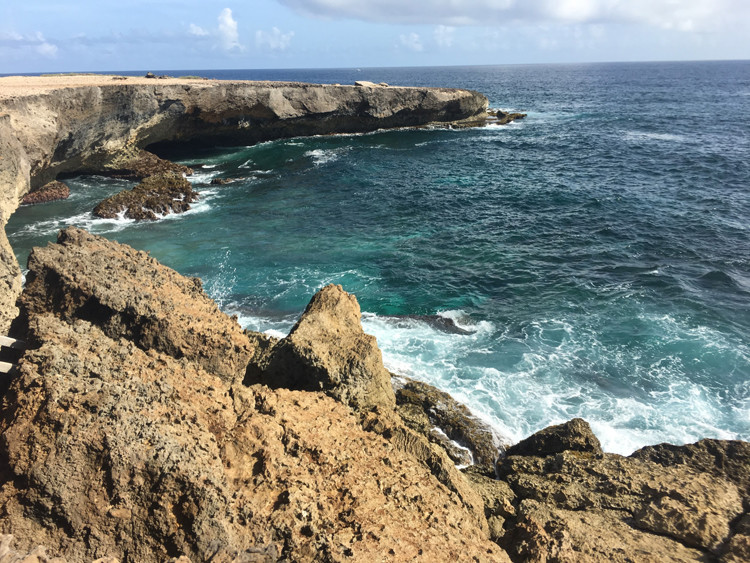 Arikok Park in Aruba is a gorgeous spot for photos when on a momcation.
