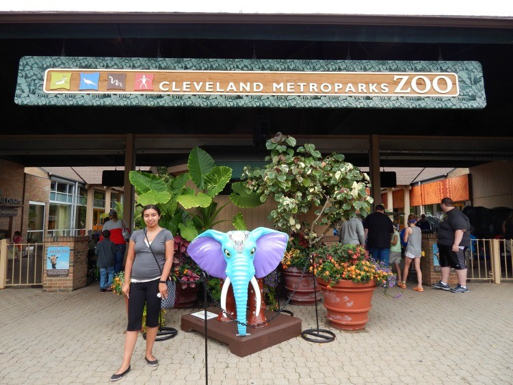 The zoo is just one of the fun things to do in Cleveland with kids.