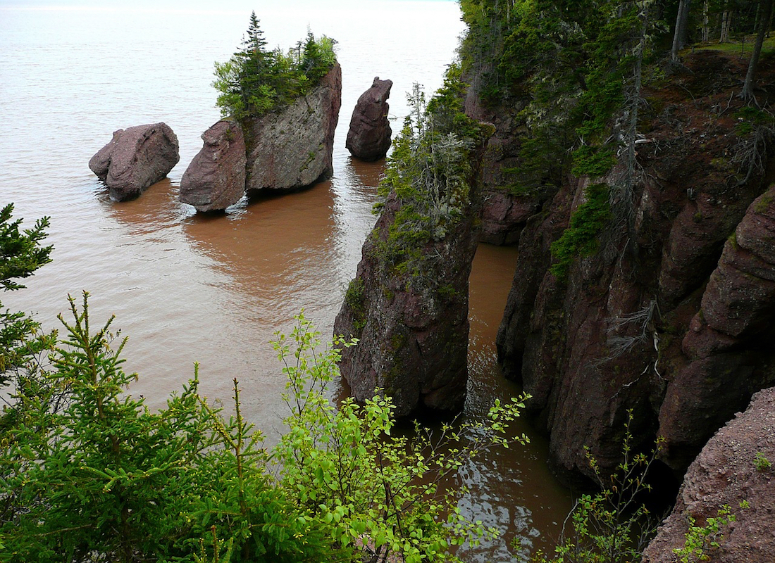 Visit Hopewell Rocks. 9 Best things to do with kids at the Bay of Fundy National Park