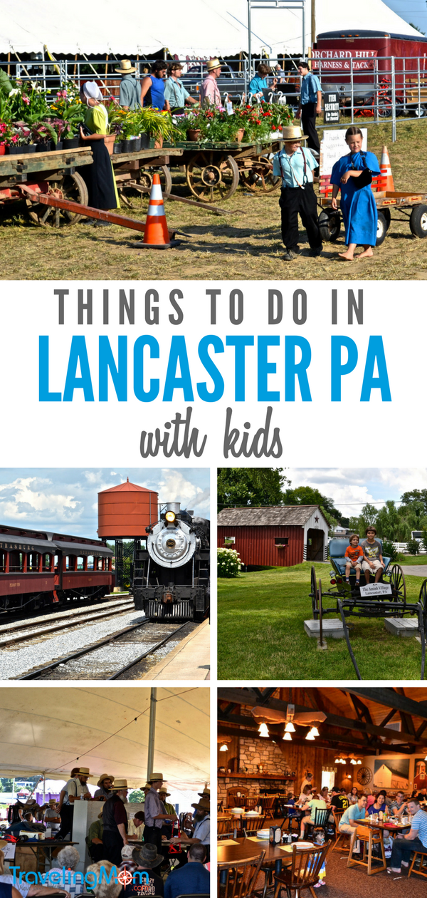 Things to do in Lancaster PA with kids