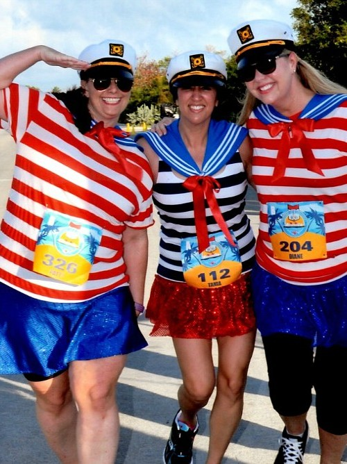 For girlfriend getaway cruises, try running a race with friends!