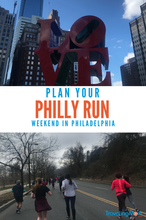 Going to Philadelphia for a race? The city has lots to do and eat around your Philly love run