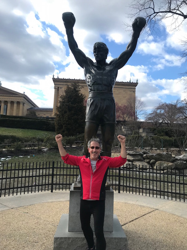 Free fun in Philly always includes a stop at the Rocky statue
