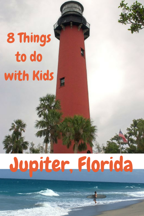 The iconic lighthouse is a popular thing to do with kids in Jupiter, Florida.