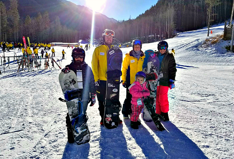 Get ready for 9,500 elevation and snowboarding at Taos Ski Valley, NM