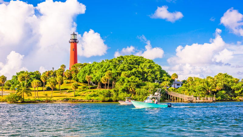 things to do in Jupiter Florida -- visit the Jupiter Lighthouse