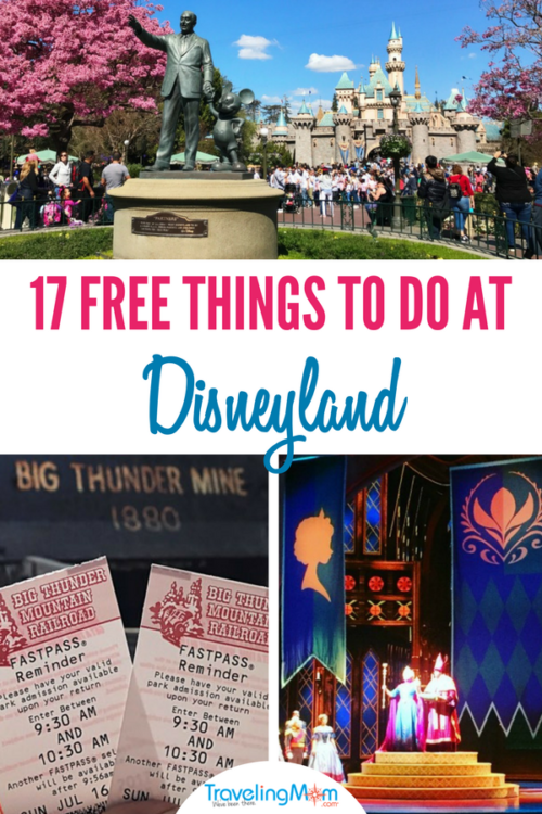 17 Free Things to Do at Disneyland!
