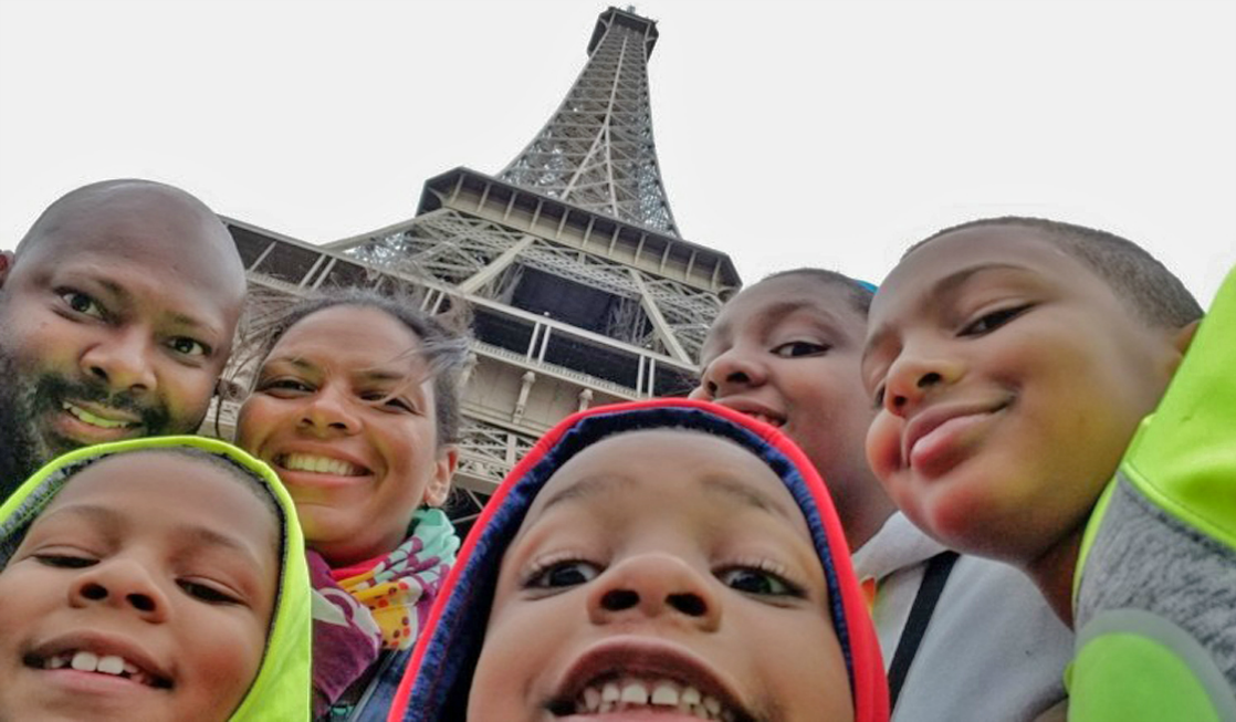 A family friendly Paris vacation must include a walk up the iconic Eiffel Tower!