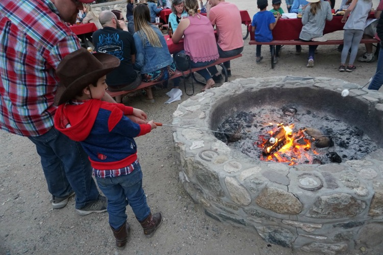 A western cookout isn't complete without s'mores! Photo by Multidimensional TravelingMom, Kristi Mehes.